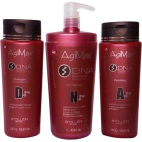 Kit Dna Inteligente Agimax Tratamento Dna System Soller 1l