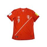 Camiseta Selección Perú Original Grabado En Felpa Talla M