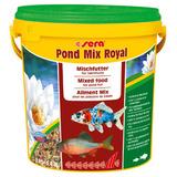 Ração Sera Pond Mix Royal 2000 Gr Mistura De Sticks E Flocos