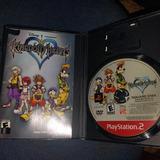 Kingdom Hearts 1 Ps2 Playstation 2 Original Caja Y Manual