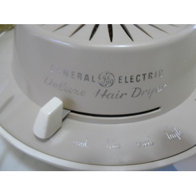 Secador De Pelo General Electric Wintage Deluxe Hair Drye