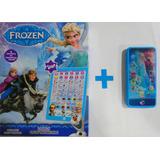 Tablet E Celular Educativo Interativo Brinquedo Frozen