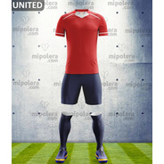 Equipo De Futbol Personalizado Model United 48 Hrs. Mipolera