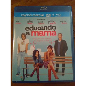 Educando A Mamá Bluray + Dvd( Eugenio Derbez Y Eva Mendes)