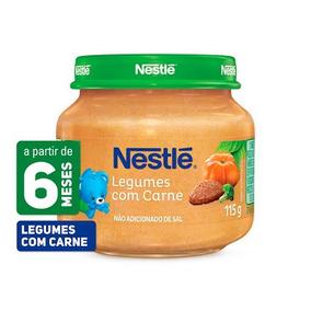 Papinha Nestlé Salgada E Doce 115gramas