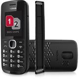 Celular Nokia 110 Dual Chip Fm Bluetooth Novo Na Caixa+nota