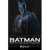 Sideshow Dc Comics Batman (azul) 1/6 Hot Toys En Mano ¡¡¡