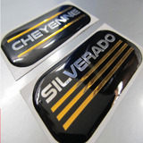 Calcomanias Emblemas Chevrolet Silverado Y Cheyenne Resina