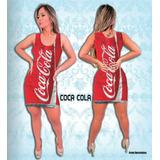Fantasia Vestido Coca Cola