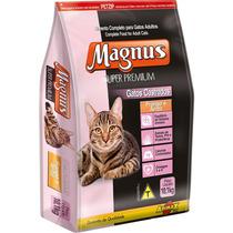 Ração Magnus Super Premium Gatos Castrado Frango/arroz 10,1k
