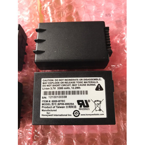 Bateria Coletor De Dados Honeywell 6500 6100 Original Nfe