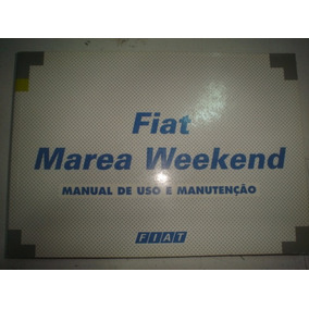 Manual Fiat Marea Weekend 1999 2000 Elx Hlx Sx Turbo 1.8 2.0