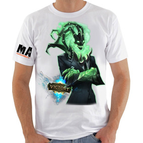 Camisa League Of Legends - Thresh Victory
