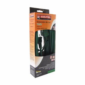 Extension Domestica 8m Verde Calibre16 3 Contactos Peldaños
