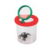 Visor/lupa De Bichos Con Araña Incluida De Goma