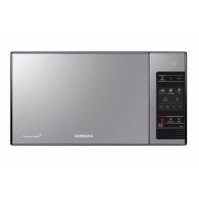 Microondas Samsung Espejado 23 Lts Me83x/xzs