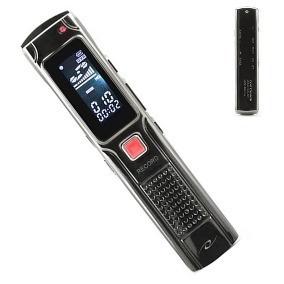 Gravador De Voz Digital Espião Grampeia Telefone Fixo