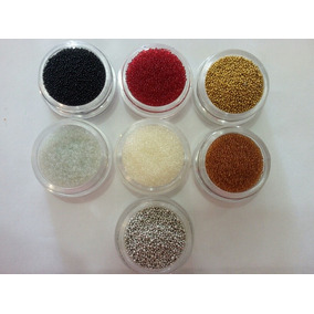 Balines, Caviar Ideales Para Uñas Y Manualidades