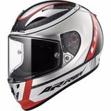 Capacete Ls2 Ff323 Arrow C Indy Chrome Fibra De Carbono