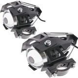 2 Neblineros Led Lupa Moto 12v Transformers 125w V5 R5501