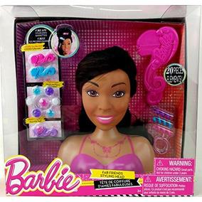 Barbie Fab Amigos 20-piezas Cabeza Styling - Afroamericano