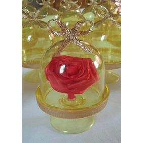 Souvenir Rosa La Bella Y La Bestia