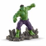 Estatueta Miniatura Os Vingadores Incrivel Hulk Verd Marvel