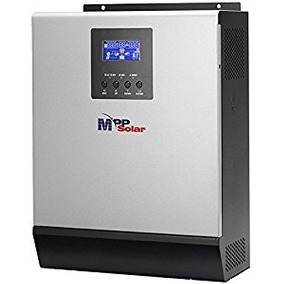 Inversor Cargador 24v 2.4k P/ Paneles Solares De 60 Celdas