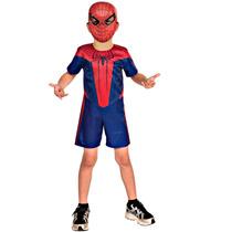 Fantasia Homem Aranha / Spiderman Infantil Curta Original