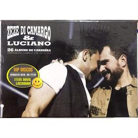 Box Zezé Di Camargo E Luciano 25 Anos - 26 Cds Novo Lacrado