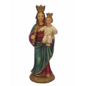 Imagem Nossa Senhora Auxiliadora 10 Cm Di Ângelo Clássica