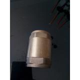 Valvula Check 1 Pulgada Bronce Cuerpo Y Resorte Tuberia Nuev