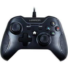 Controle Xbox One Warrior Multilaser Preto - Js078