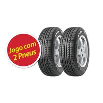 Kit Pneu Pirelli 185/60r14 P6 82h 2 Unidades