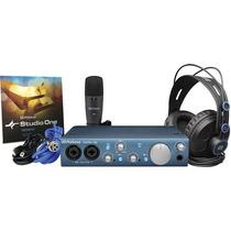 Kit De Gravação Móvel Completo Presonus Audiobox Itwo Studio