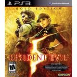 Resident Evil 5 Gold Edition Ps3 Fisico New Full Gamer