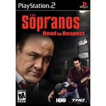 Jogo Sopranos Road To Respect Playstation 2 Original Lacrado