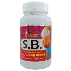 Seca Barriga Goji Berry C/60 Cápsulas