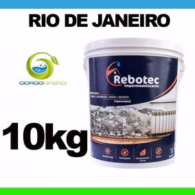 Rebotec 10kg Solução Para Lajes Trincas Reboco Tijolo Rj