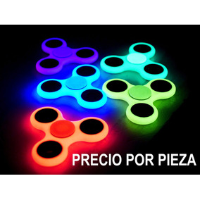 Fidget Spinner Original Fluoresente Antiestres Colores