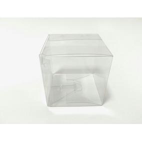 Cajas De Acetato Transparente 6 X 6 X 6 (20u)