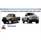 Haynes Repair Manual Ford Ranger 1993 Thru 2005 All Models