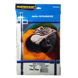 Papel Fotográfico Glossy Masterprint A4 180 Gramas 500 Folh