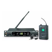Sistema Monitor In Ear Profissional Staner Srm-1e Uhf S/ Fio