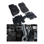 Set Tapetes 3d Jeep Jk Wrangler 4 Puertas Uso Rudo 15569