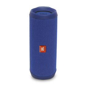 Caixa De Som Portátil Jbl Flip 4 Bluetooth Azul