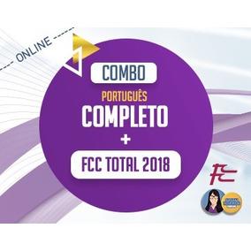 Português Completo + Fcc Total 2018 - Adriana Figueiredo