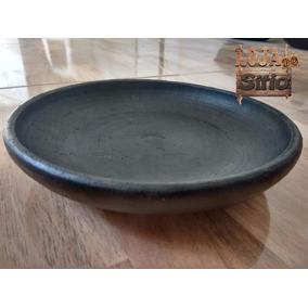 Jogo Com 6 Pratos De Barro Modelo Tigela Refeições Sopa 18cm