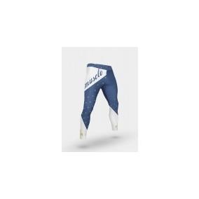 Calça Legging Masculina Mmuscle Azul
