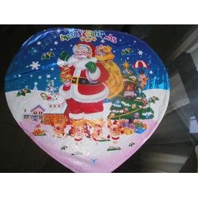 Globo Papa Noel Metalizados Inflar Gas Helio O Aire Disney